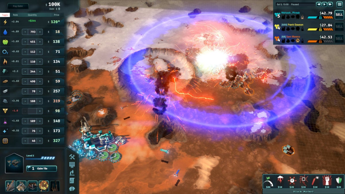 Best steam deals- Offworld trading company