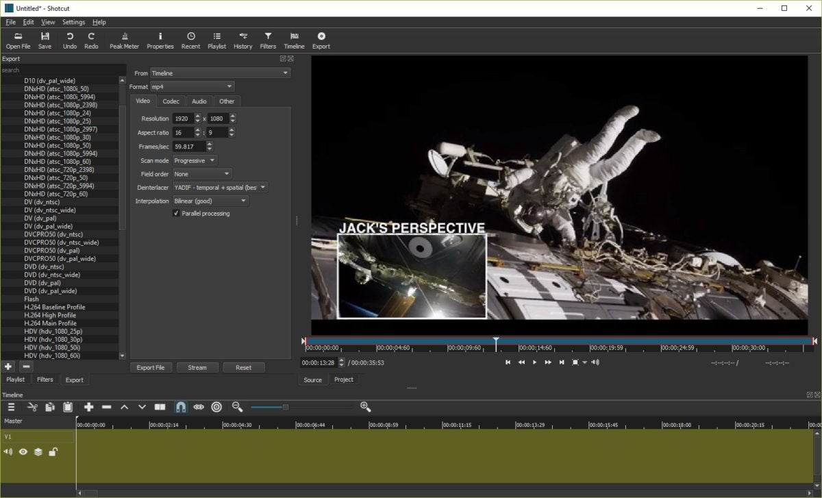 Shotcut Review This Open Source Video Editor Is Impressive Pcworld
