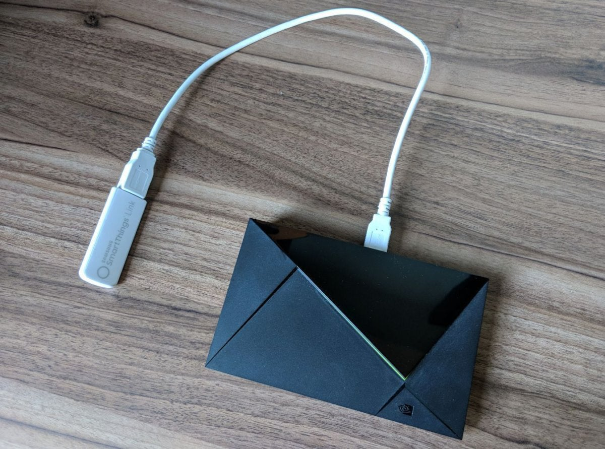 Samsung SmartThings Link for Nvidia Shield TV review: A
