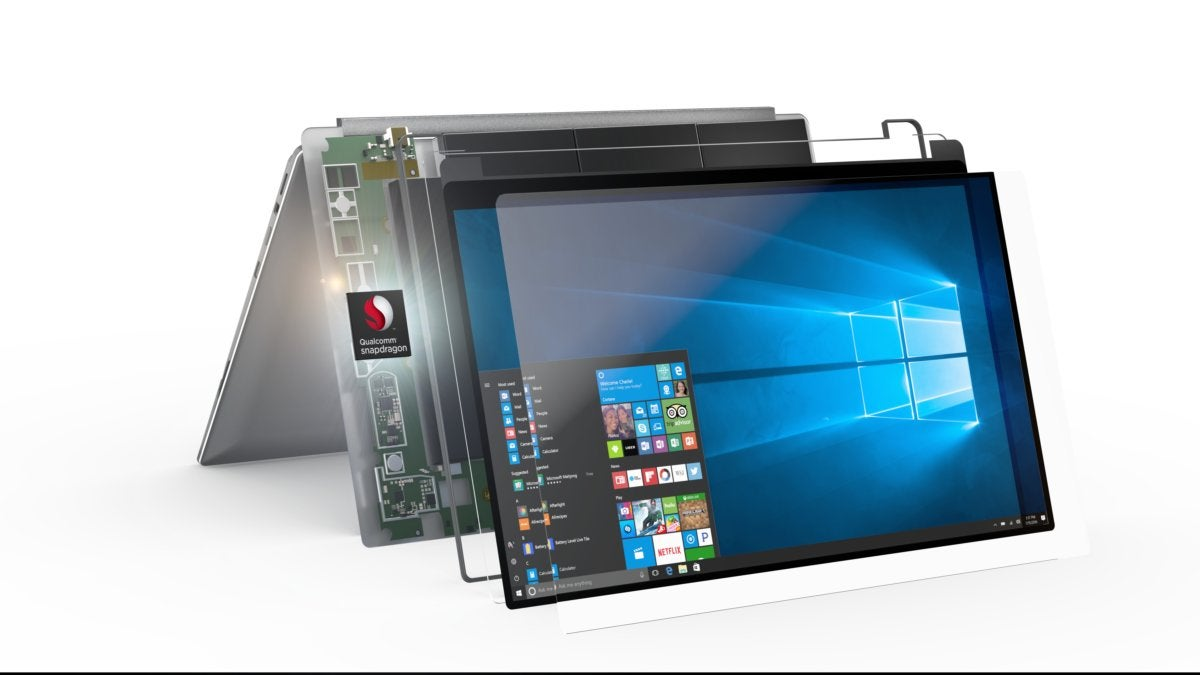 the always connected pc powered by qualcomm snapdragon