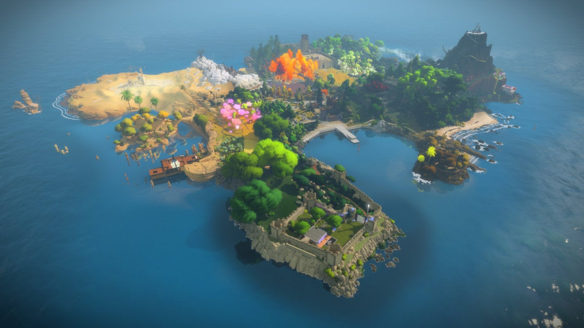 Best steam deals- The witness