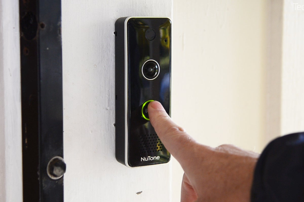 Nutone Knock Video Doorbell Review Techhive