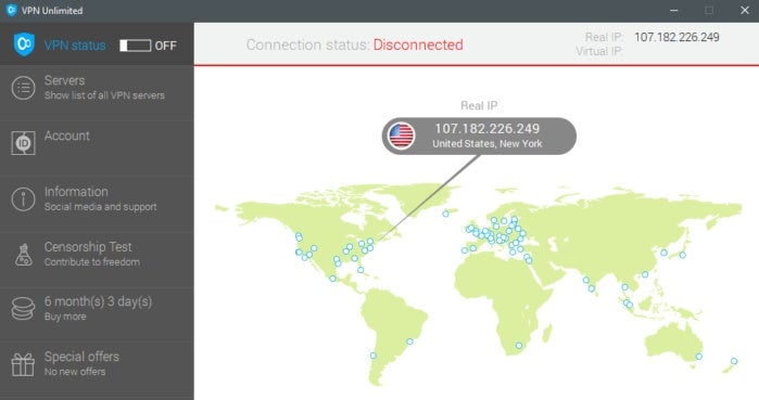 VPN Unlimited review: Good speeds, but what's with that map