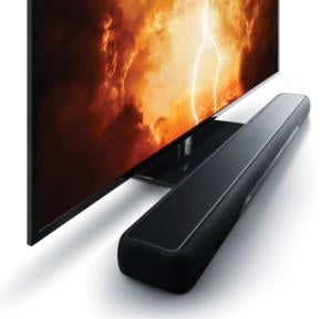Yamaha YAS-207 sound bar with DTS Virtual:X.