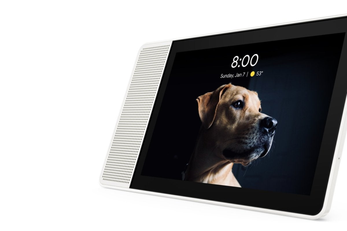 05 smart display 10 inch hero front facing left camera off edited