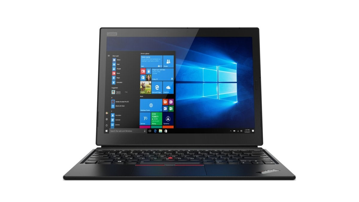 Lenovo X1 tablet 2018