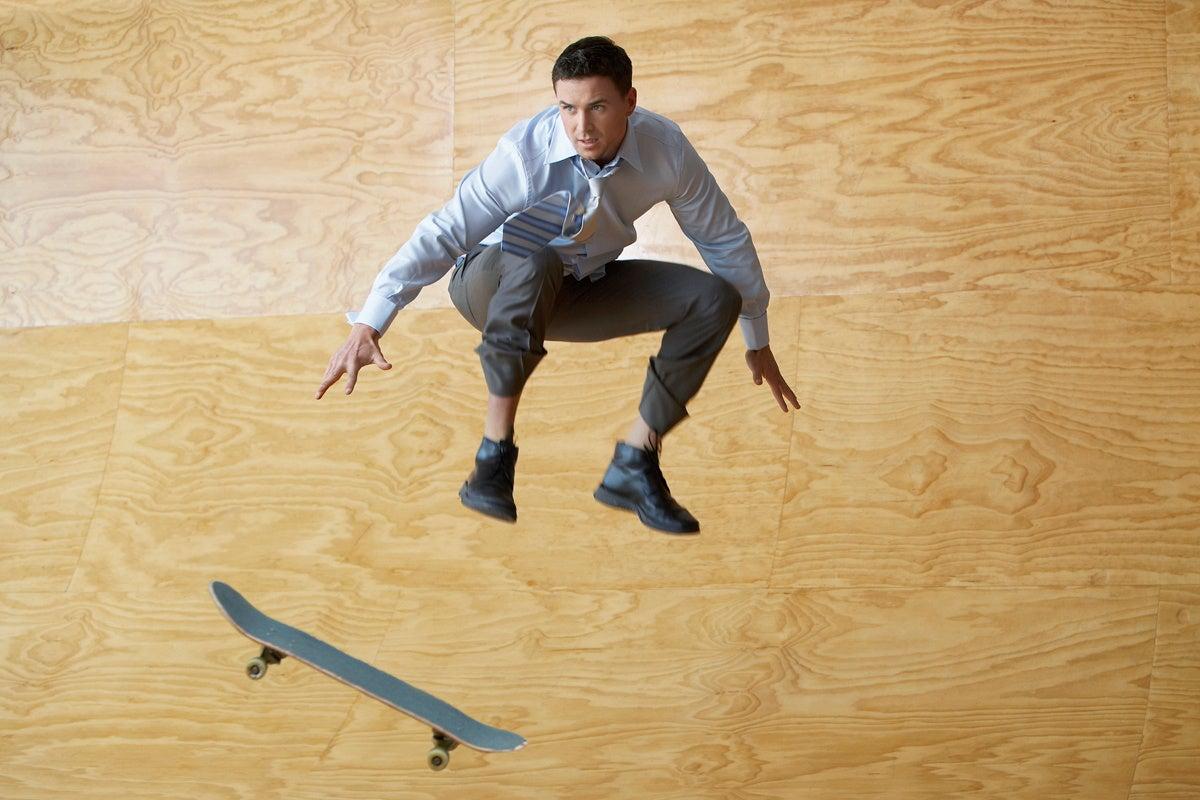 agile skateboard athletic fast