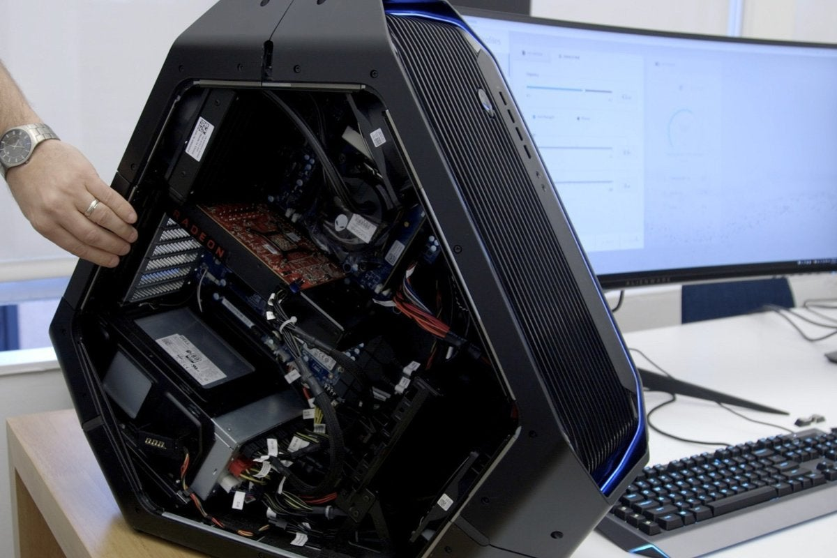 Alienware's Area 51 PC gets hardware tweaks and a new Command Center