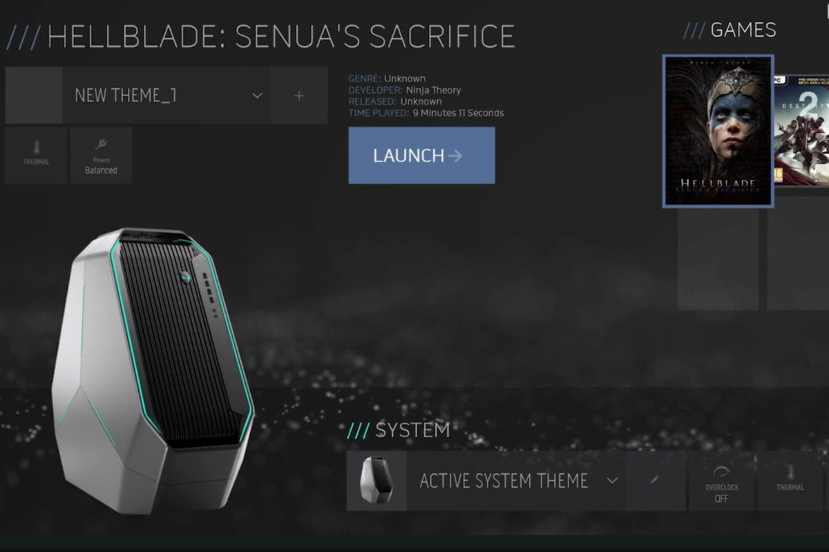 Alienware's Area 51 PC gets hardware tweaks and a new