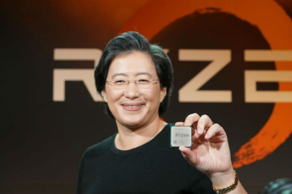 photo image AMD's CEO Lisa Su confirms ray tracing GPU development, hints at more 3rd-gen Ryzen cores