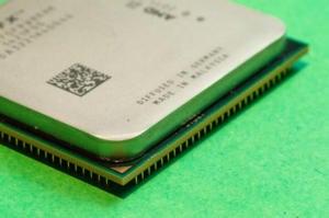 amd processor closeup