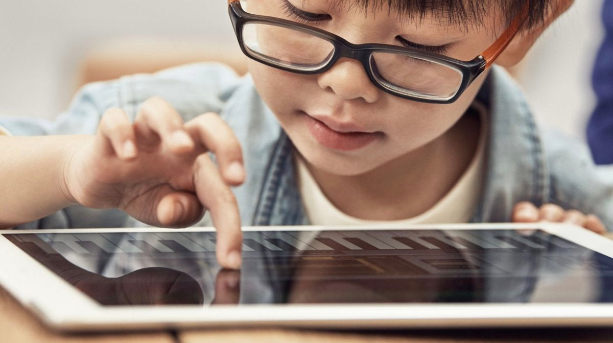apple kids ipad controls