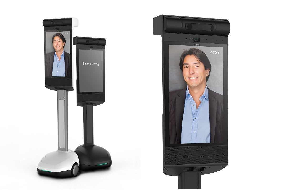Improved telepresence: In your face with the new BeamPro 2