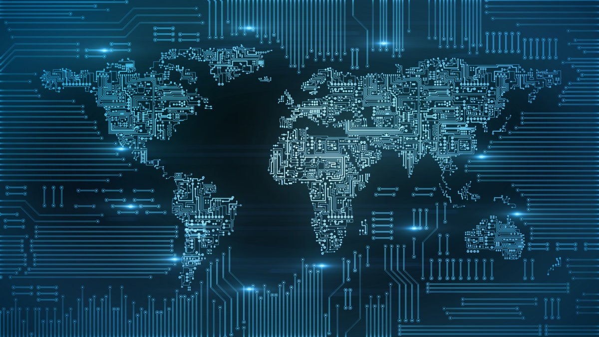 blockchain bitcoin circuitry global