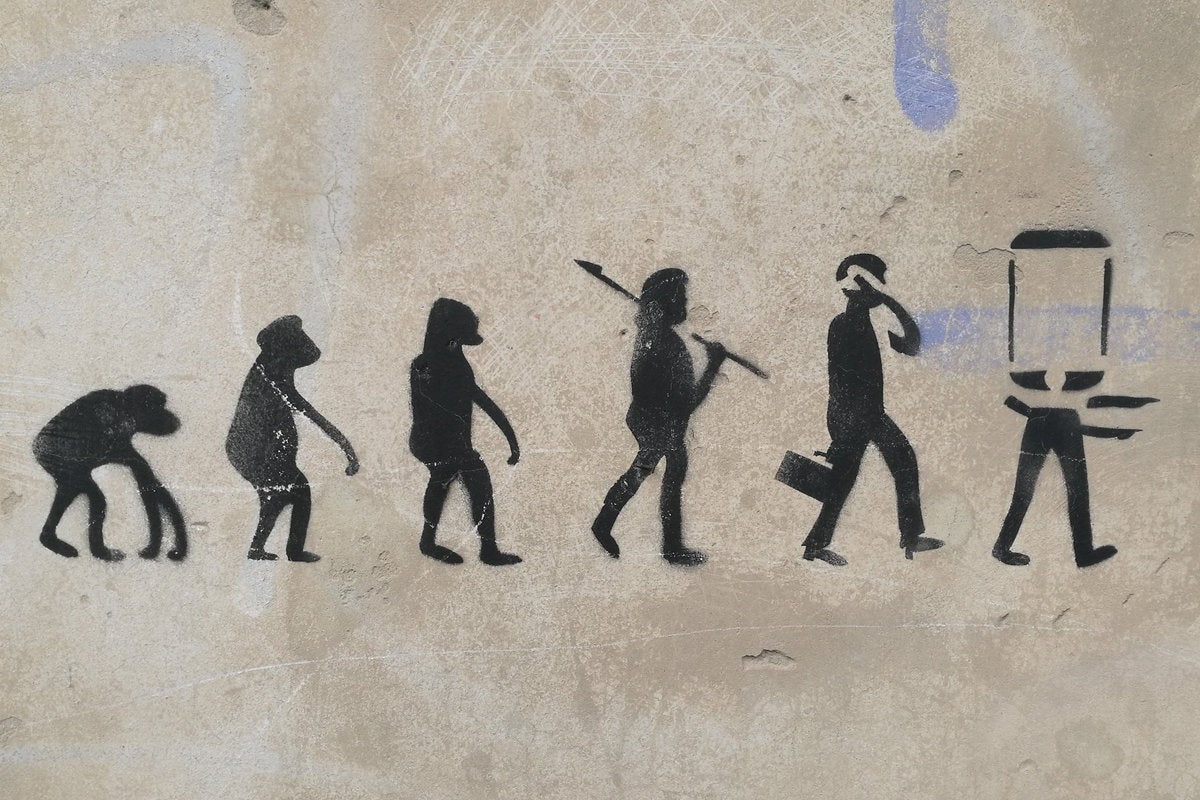 cave drawings evolution technology change
