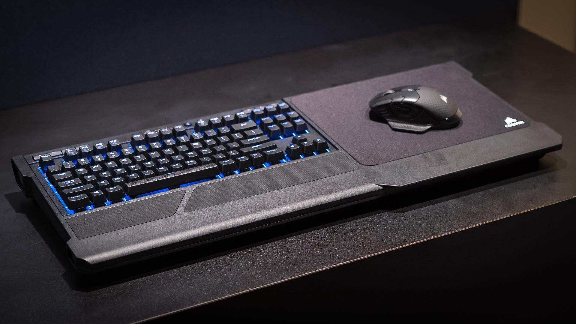Corsair K63 Wireless Keyboard and Lapboard