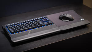 Corsair K63 Wireless Keyboard and Lapboard