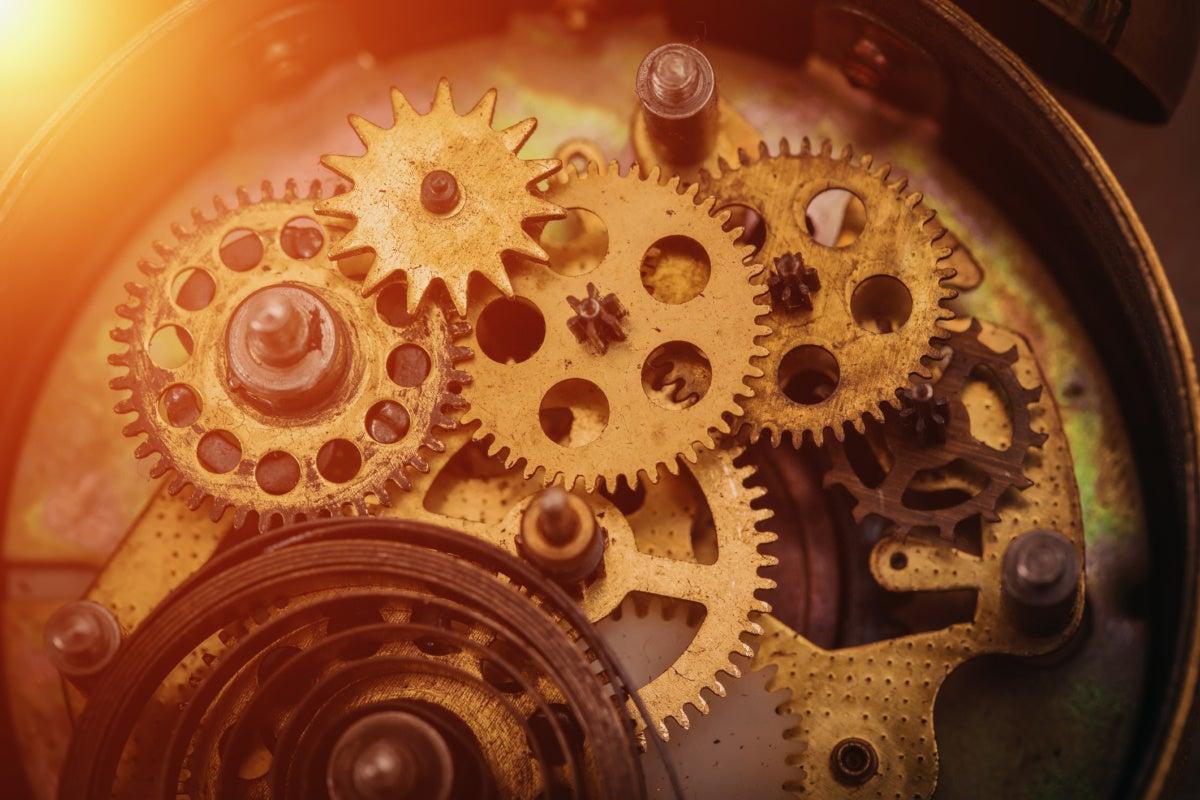 clock gear accuracy machine engineer