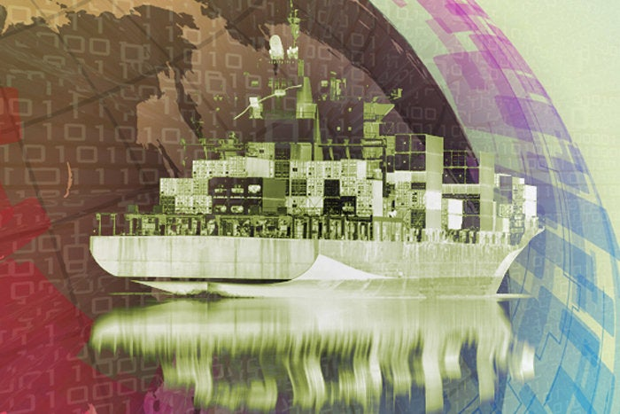 cloud migration shipping company outsourcing global consolidation