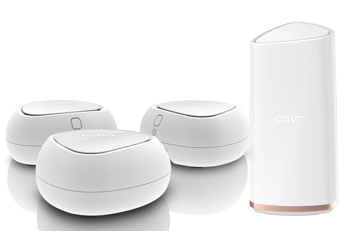 D-Link's latest COVR whole-home Wi-Fi systems look a lot more like whole-home Wi-Fi systems