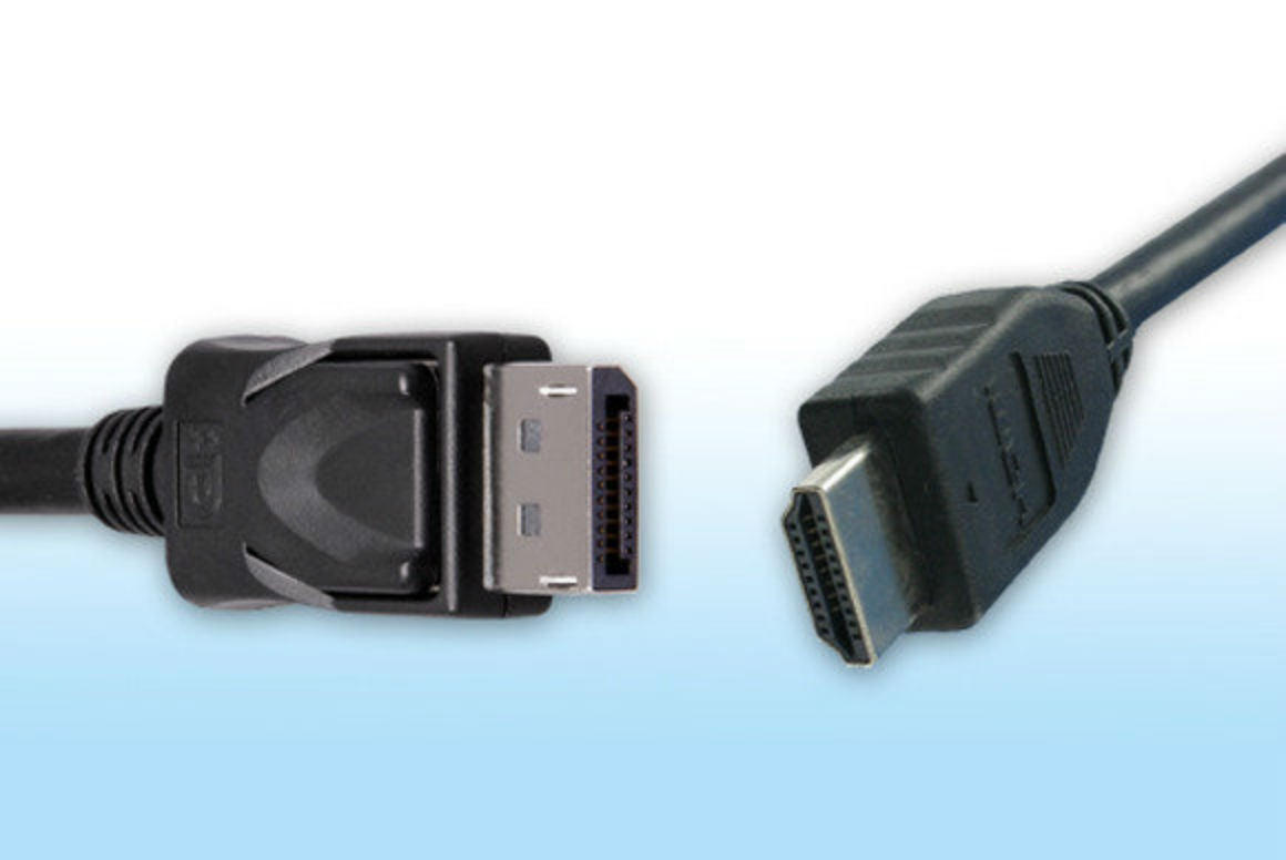Hdmi Vs Displayport Which Display Interface Reigns Supreme Pcworld Cable Connector A