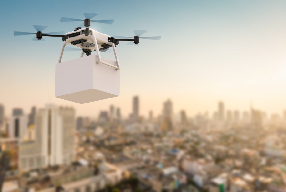 IoT's role in expanding drone use