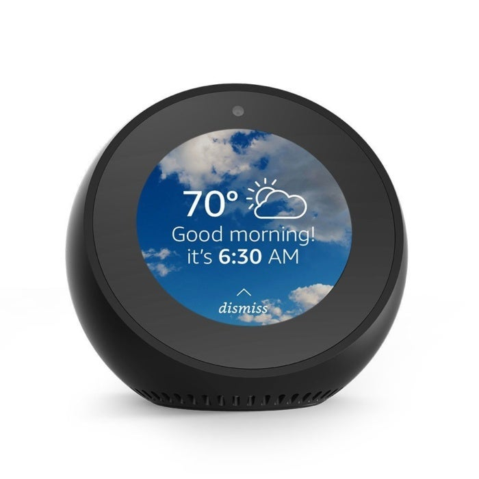 echo spot  - echo spot 100747495 large - Amazon Is Offering a $40-Off Deal On Its Echo Spot Devices