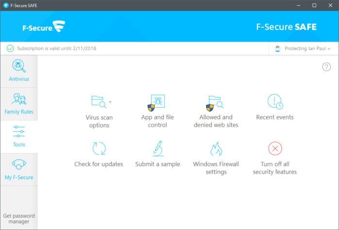 f securesettings