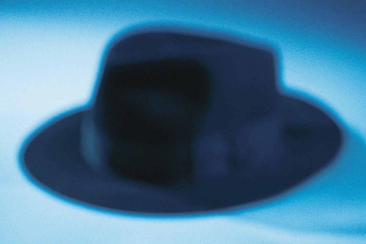 fedora hat black hat detective spy