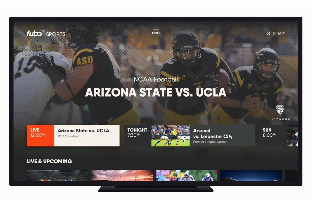 FuboTV review: This service streams lots of sports channels, but not ESPN