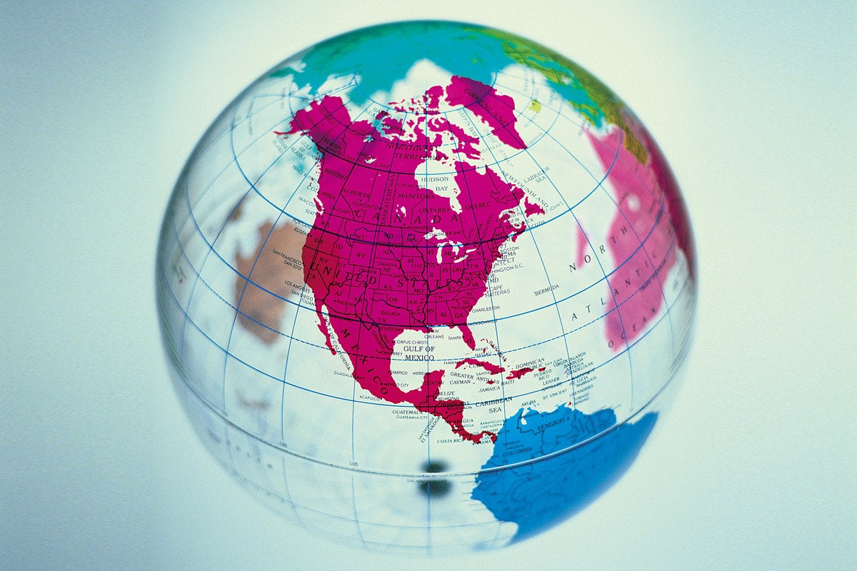 globe global offshore outsourcing map world
