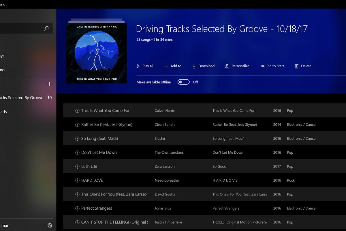 why microsoft u0026 39 s groove music app is the forgotten mp3