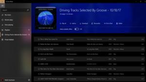 groove playlist