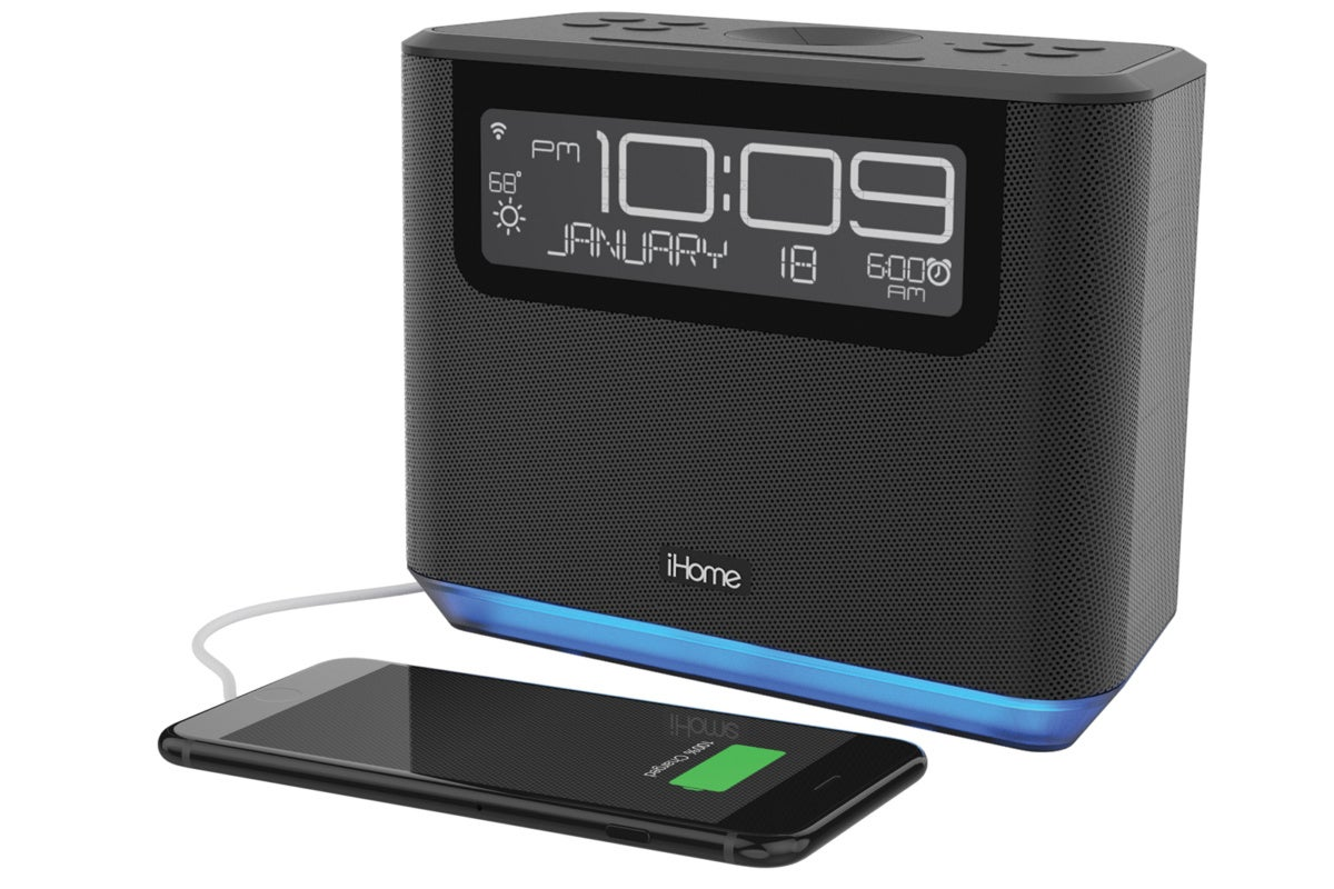 iHome iAVS16B review: This smart bedside clock radio gets Alexa in the mix