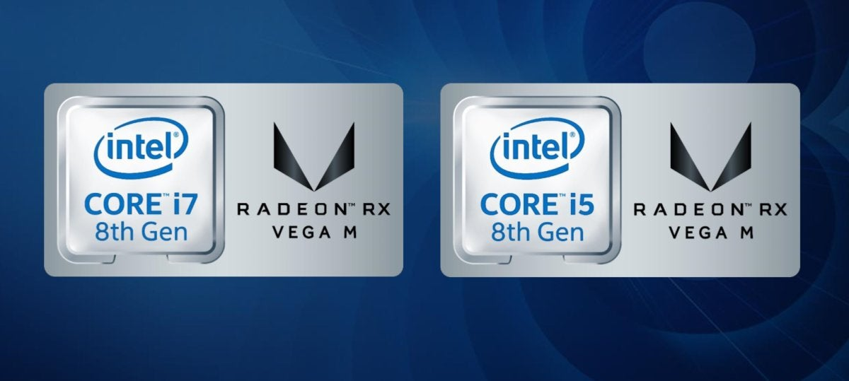 Intel Core AMD Radeon RX Vega M