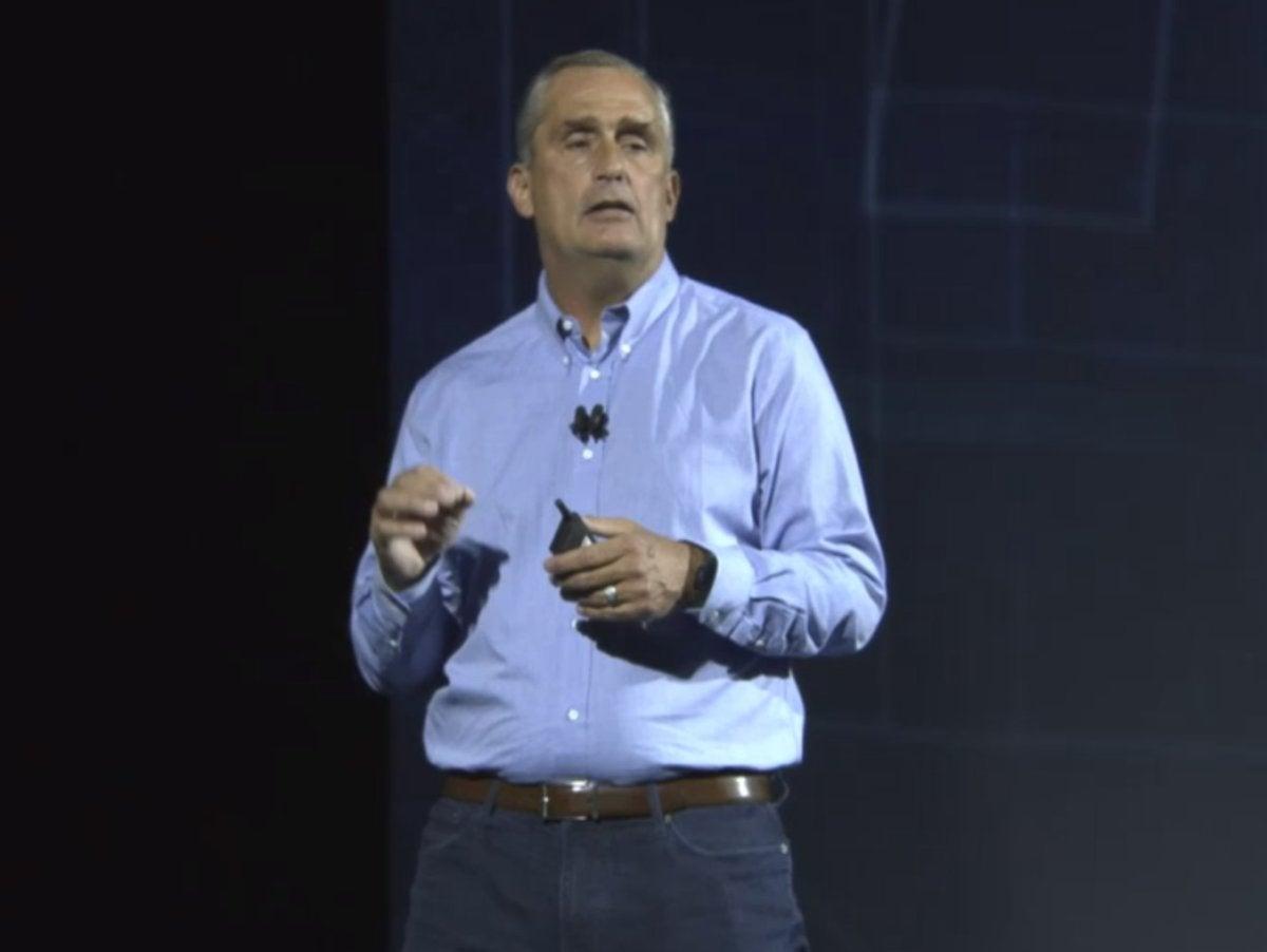 Intel Brian Krzanich CES
