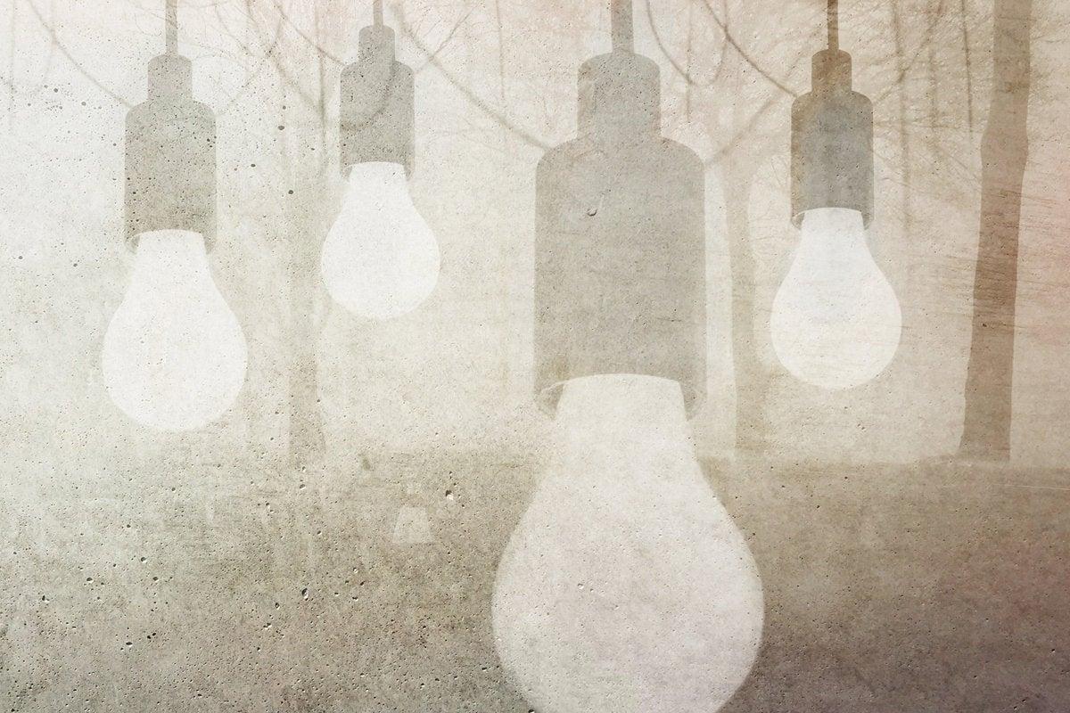 lightbulbs innovation ideas collaboration brilliant creative