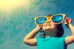 little girl sunglasses bright future predictions big data