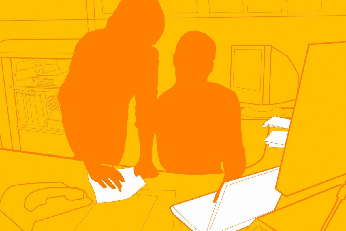 mentor teach learn office computer