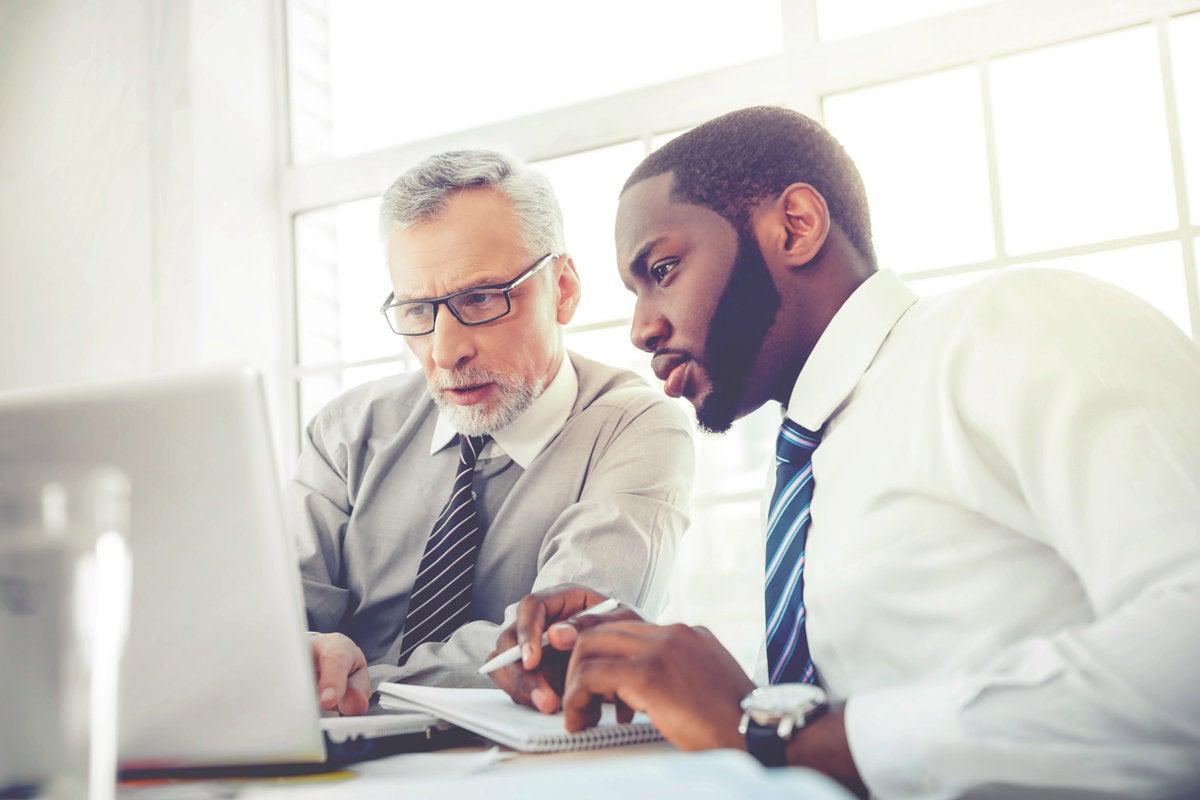 mentor teach senior collaborate