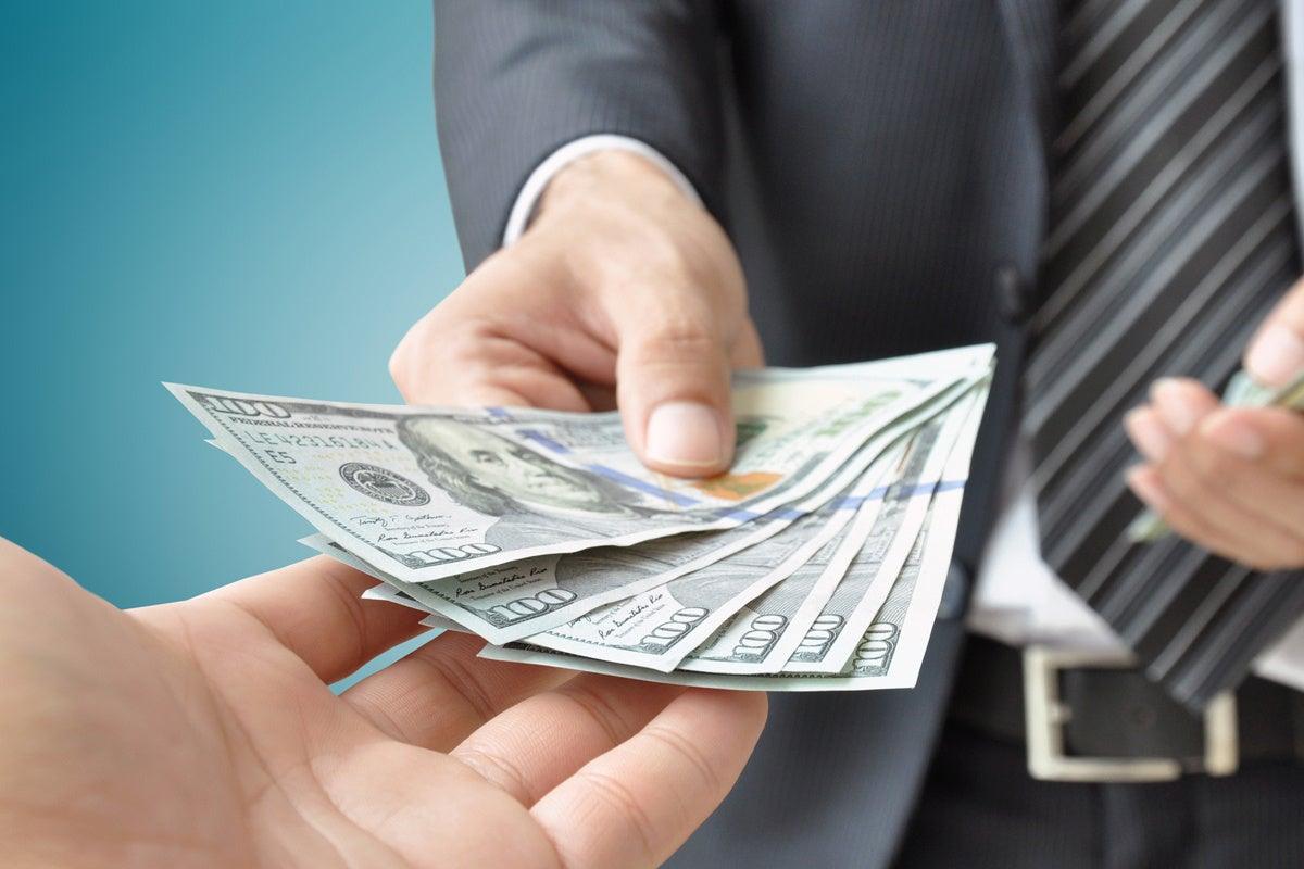 pile of money salary bonus currency financial exchange payment