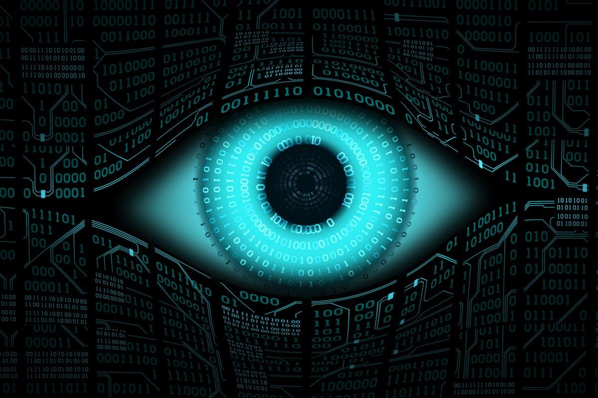 privacy breach hacked vulnerability binary eye