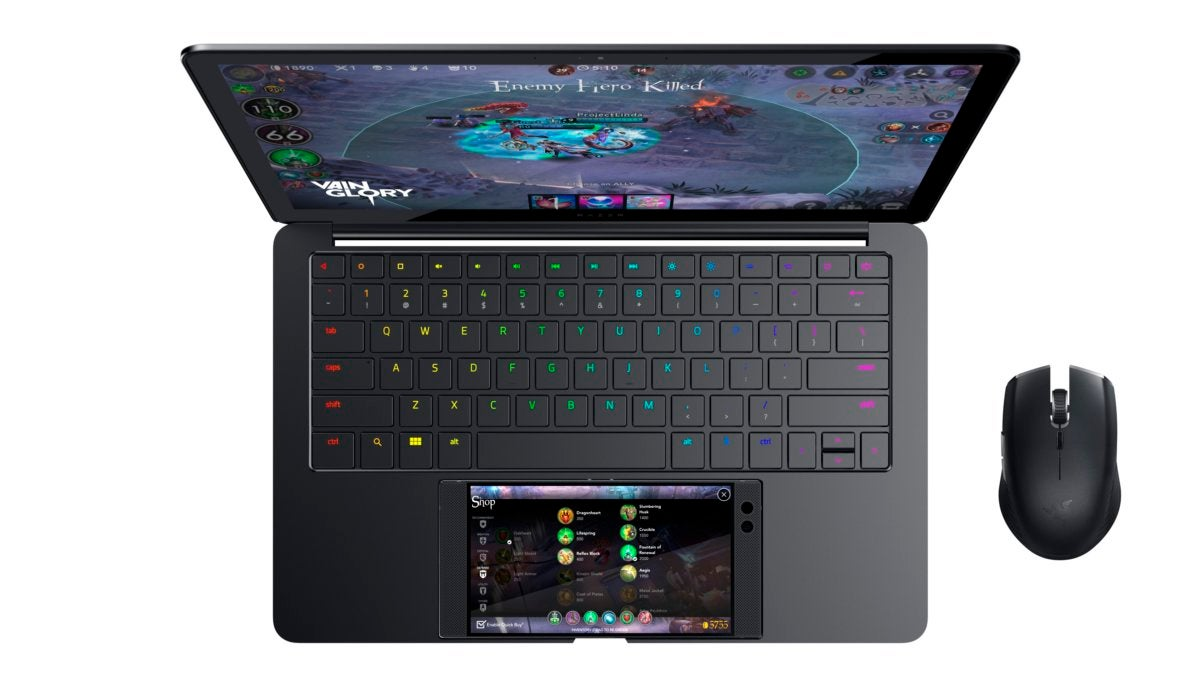 razer project linda top down with atheris vainglory