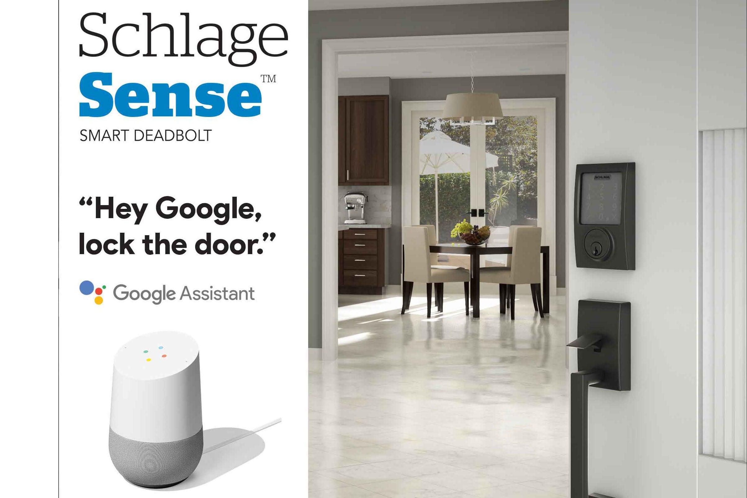Schlage Sense Smart Deadbolt Is Getting Google Assistant