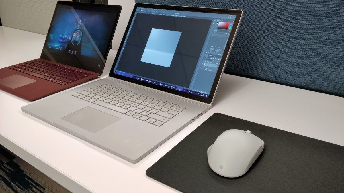 Microsoft smart switch in action 2 surface precision mouse