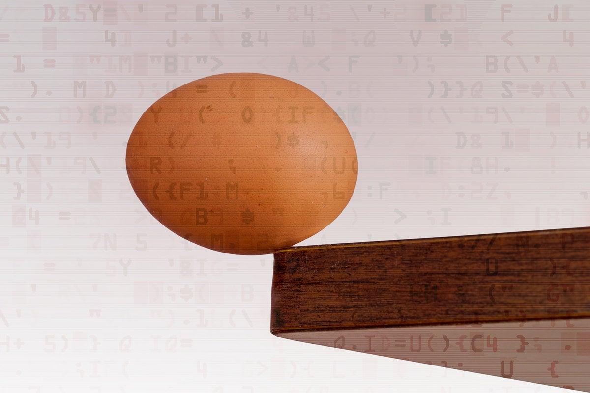vulnerable balance egg risk breach security