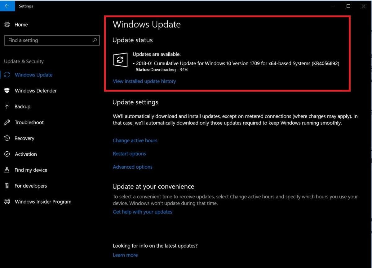 windows update meltdown
