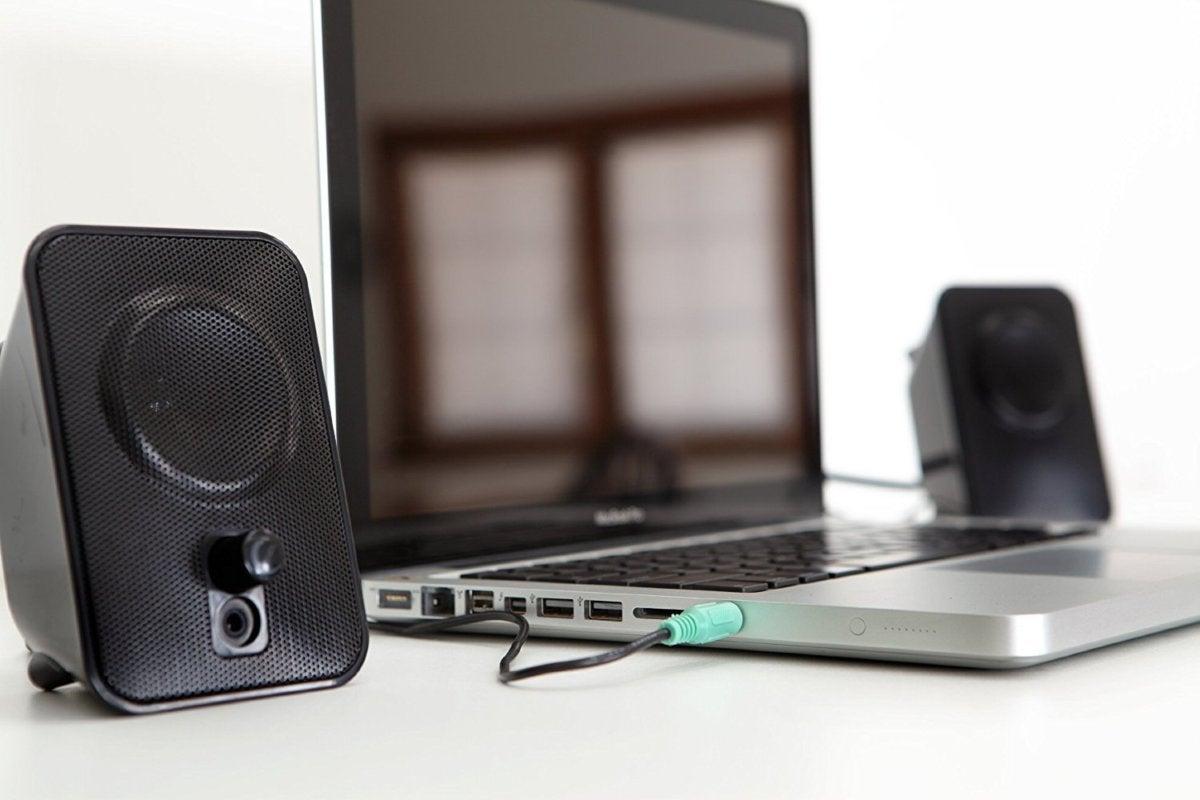 amazonbasics speakers laptop