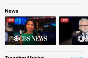 apple tv news
