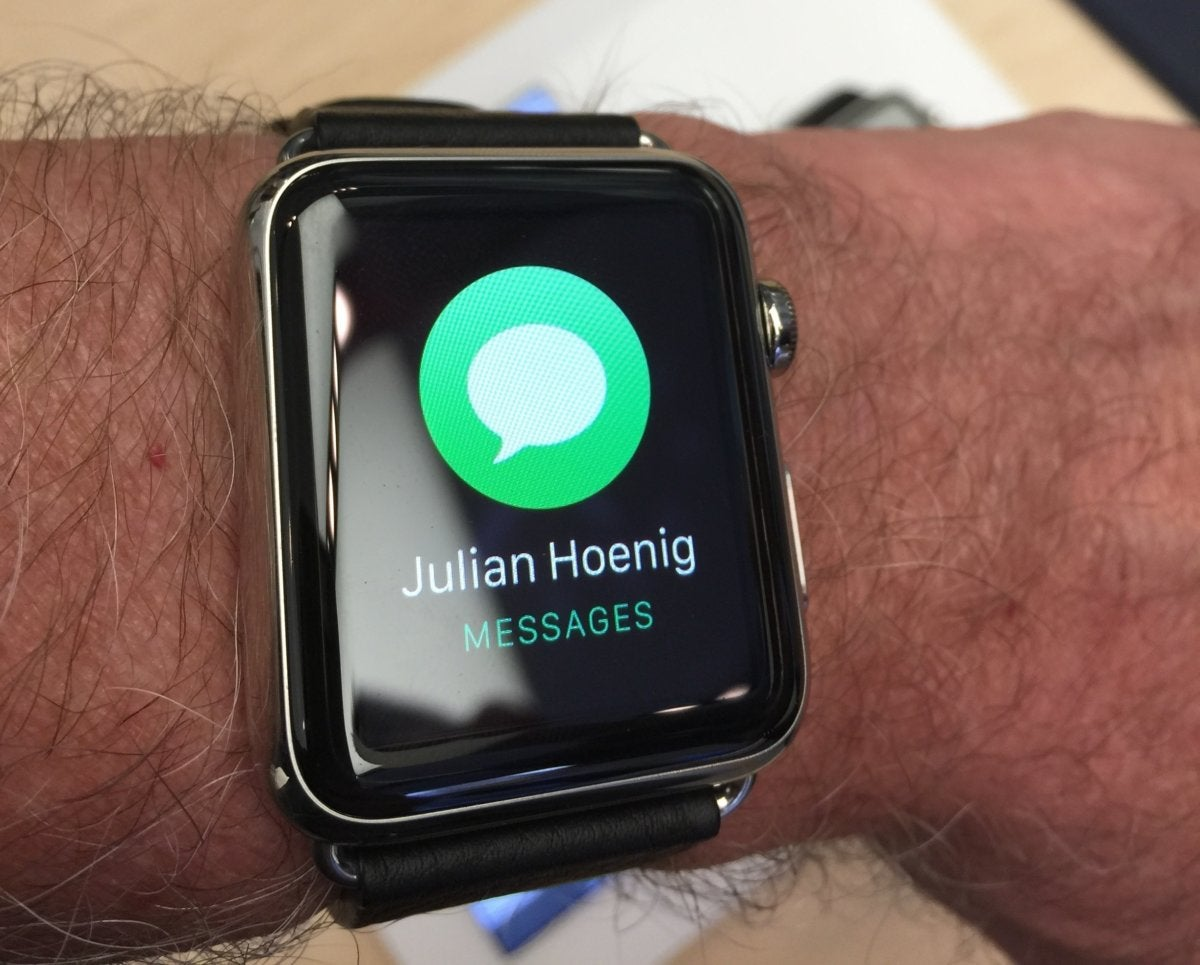 apple watch notficications